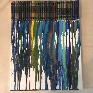 crayons melt together